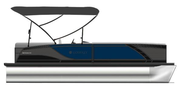 2021 Godfrey Pontoon boat for sale, model of the boat is Monaco 235 C GTP 27 in. & Image # 1 of 1