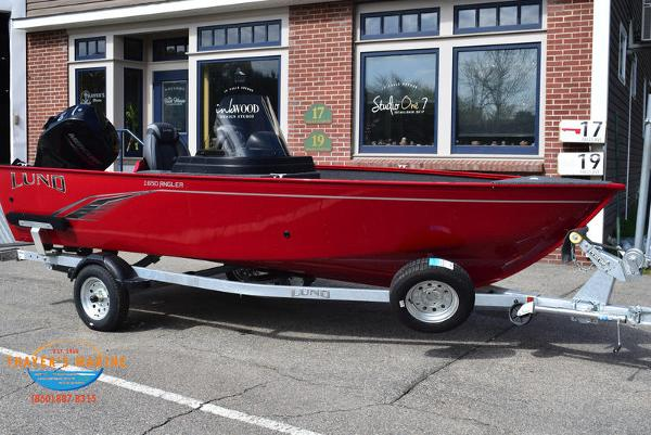 2021 Lund boat for sale, model of the boat is 1650 Angler SS & Image # 1 of 34