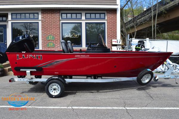 2021 Lund boat for sale, model of the boat is 1650 Angler SS & Image # 3 of 34
