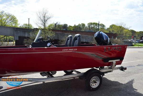 2021 Lund boat for sale, model of the boat is 1650 Angler SS & Image # 4 of 34