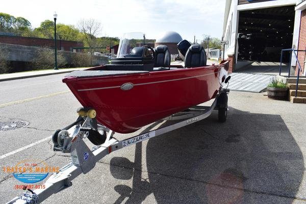 2021 Lund boat for sale, model of the boat is 1650 Angler SS & Image # 8 of 34