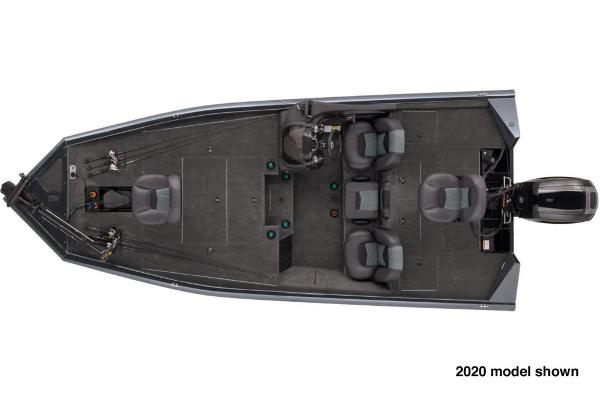2021 Tracker Boats boat for sale, model of the boat is Pro Team 195 TXW & Image # 3 of 3