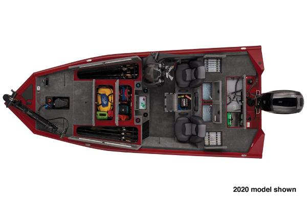 2021 Tracker Boats boat for sale, model of the boat is Pro Team 195 TXW Tournament Edition & Image # 4 of 4