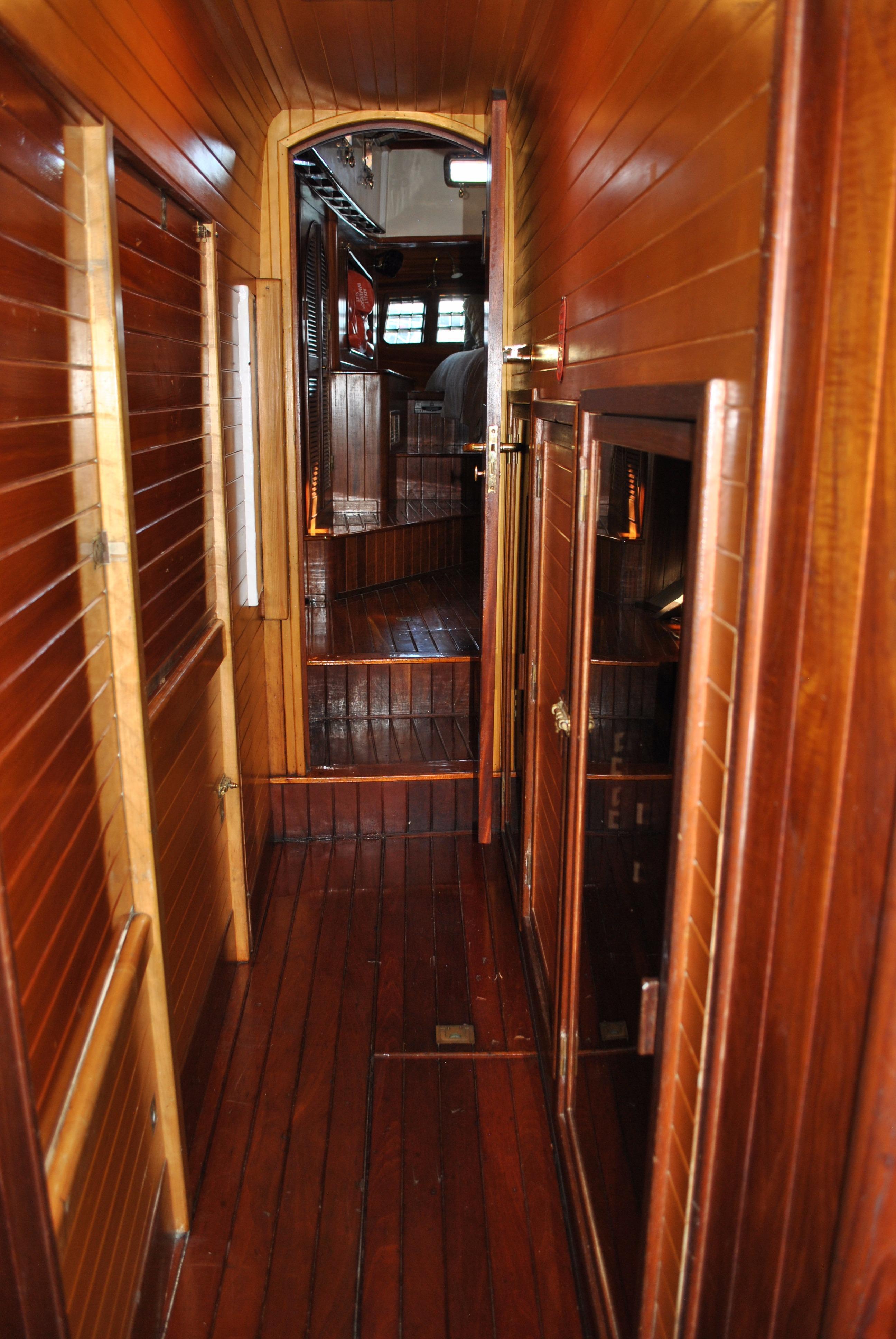 Passageway to Owner's Suite