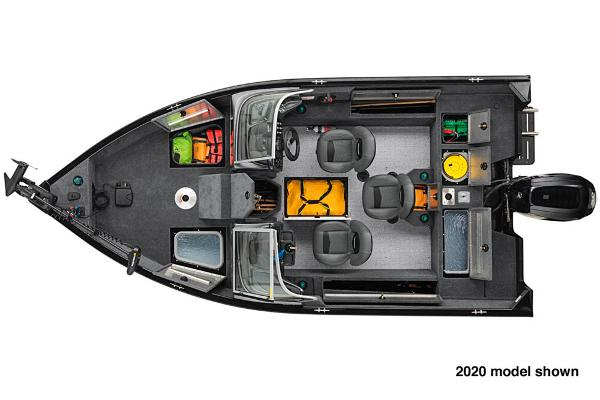 2021 Tracker Boats boat for sale, model of the boat is Pro Guide V-165 WT & Image # 5 of 5