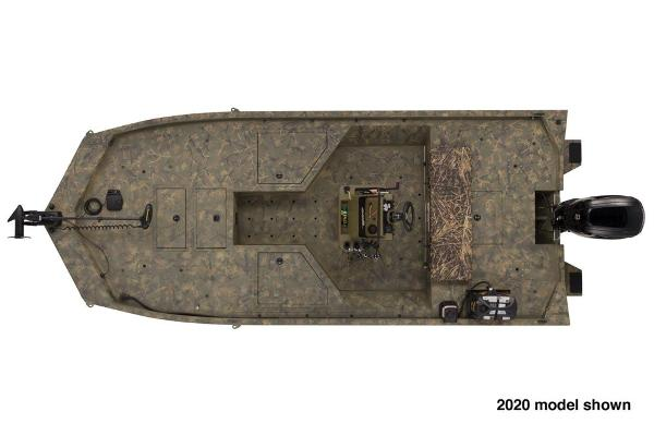 2021 Tracker Boats boat for sale, model of the boat is Grizzly 2072 CC Sportsman & Image # 3 of 5