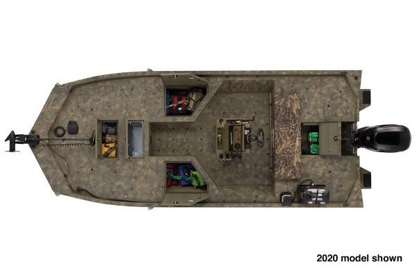 2021 Tracker Boats boat for sale, model of the boat is Grizzly 2072 CC Sportsman & Image # 5 of 5