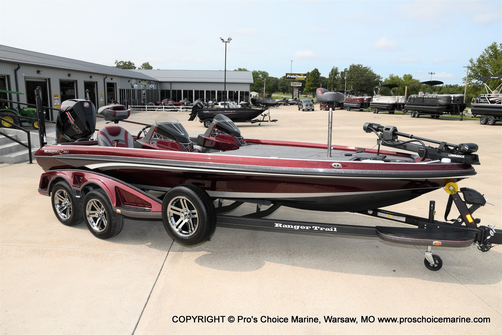 2021 Ranger Boats boat for sale, model of the boat is Z521L Cup Equipped DUAL CONSOLE & Image # 1 of 50