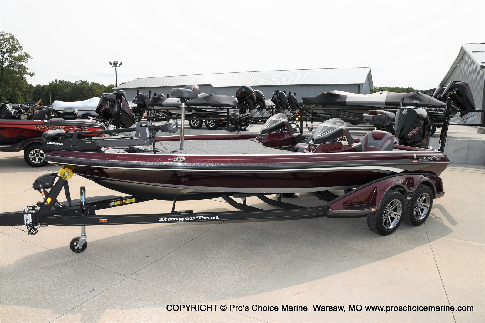 2021 Ranger Boats boat for sale, model of the boat is Z521L Cup Equipped DUAL CONSOLE & Image # 42 of 50