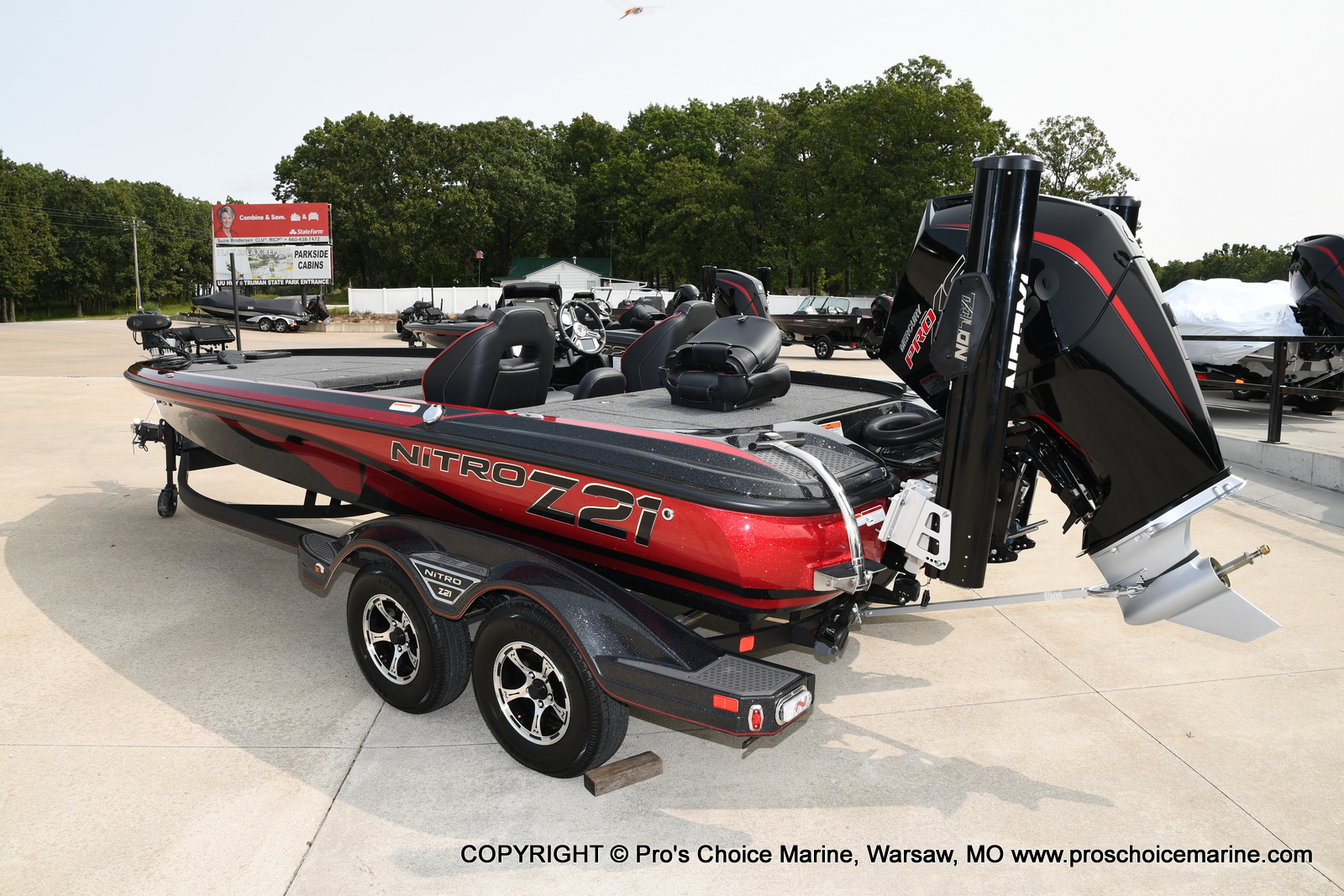 2021 Nitro boat for sale, model of the boat is Z21 Pro Package & Image # 45 of 50