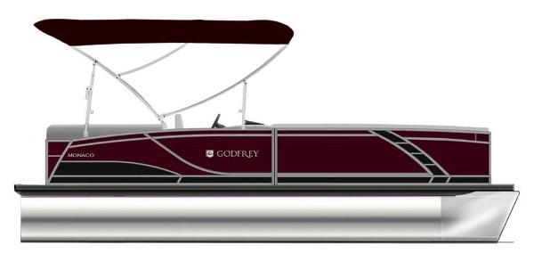 2021 Godfrey Pontoon boat for sale, model of the boat is Monaco 215 C GTP 27 in. & Image # 1 of 1