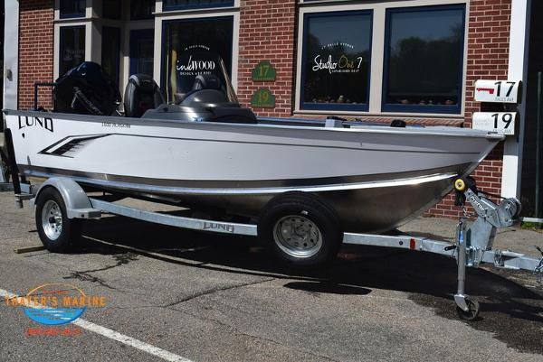2021 Lund boat for sale, model of the boat is 1600 Alaskan SS & Image # 1 of 30