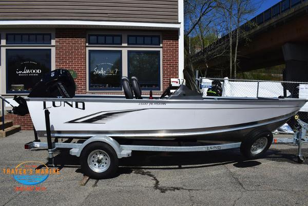 2021 Lund boat for sale, model of the boat is 1600 Alaskan SS & Image # 3 of 30