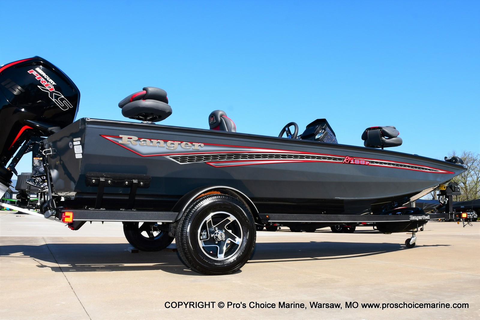 2021 Ranger Boats boat for sale, model of the boat is RT188P w/115HP Pro-XS Command Thrust & Image # 39 of 50