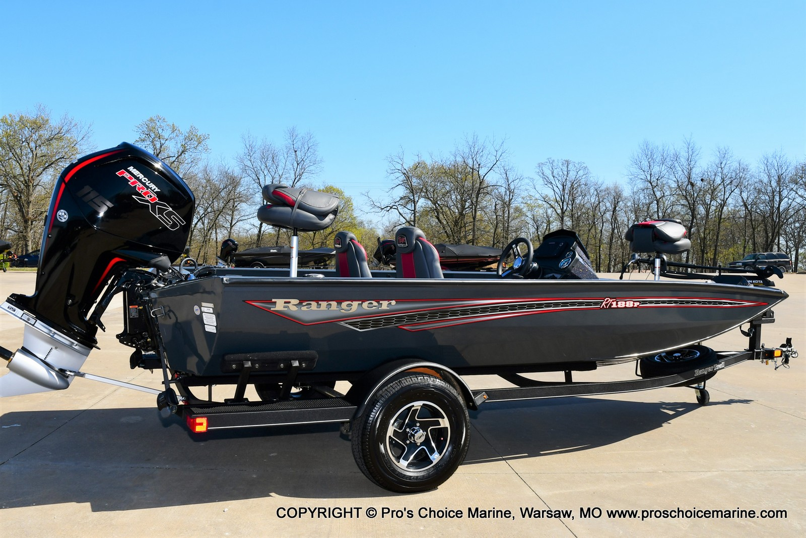 2021 Ranger Boats boat for sale, model of the boat is RT188P w/115HP Pro-XS Command Thrust & Image # 18 of 50