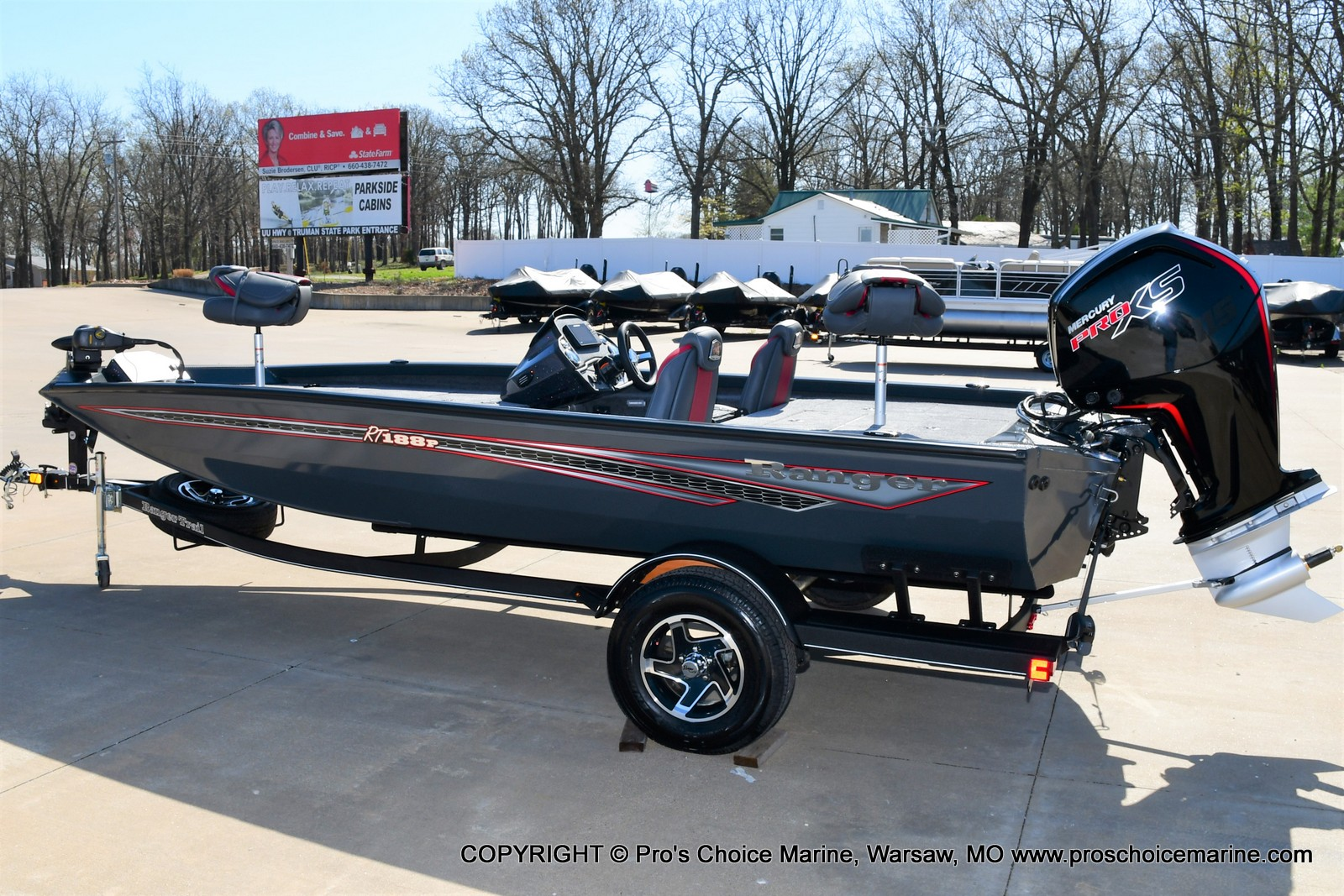 2021 Ranger Boats boat for sale, model of the boat is RT188P w/115HP Pro-XS Command Thrust & Image # 28 of 50