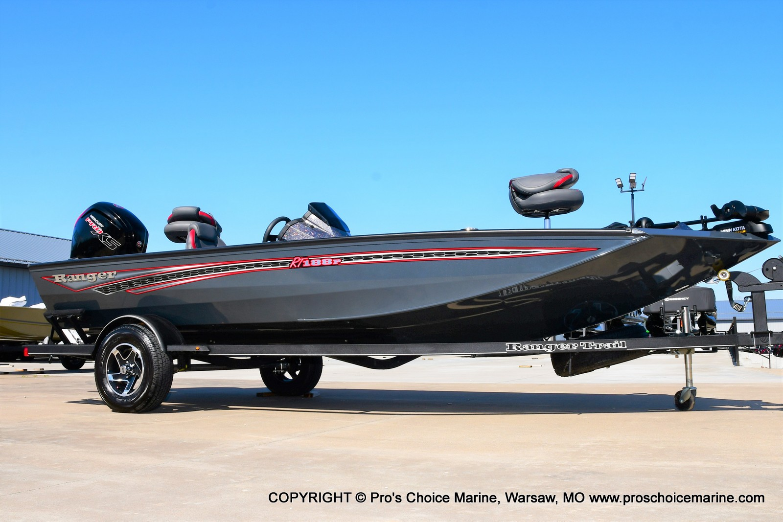 2021 Ranger Boats boat for sale, model of the boat is RT188P w/115HP Pro-XS Command Thrust & Image # 48 of 50