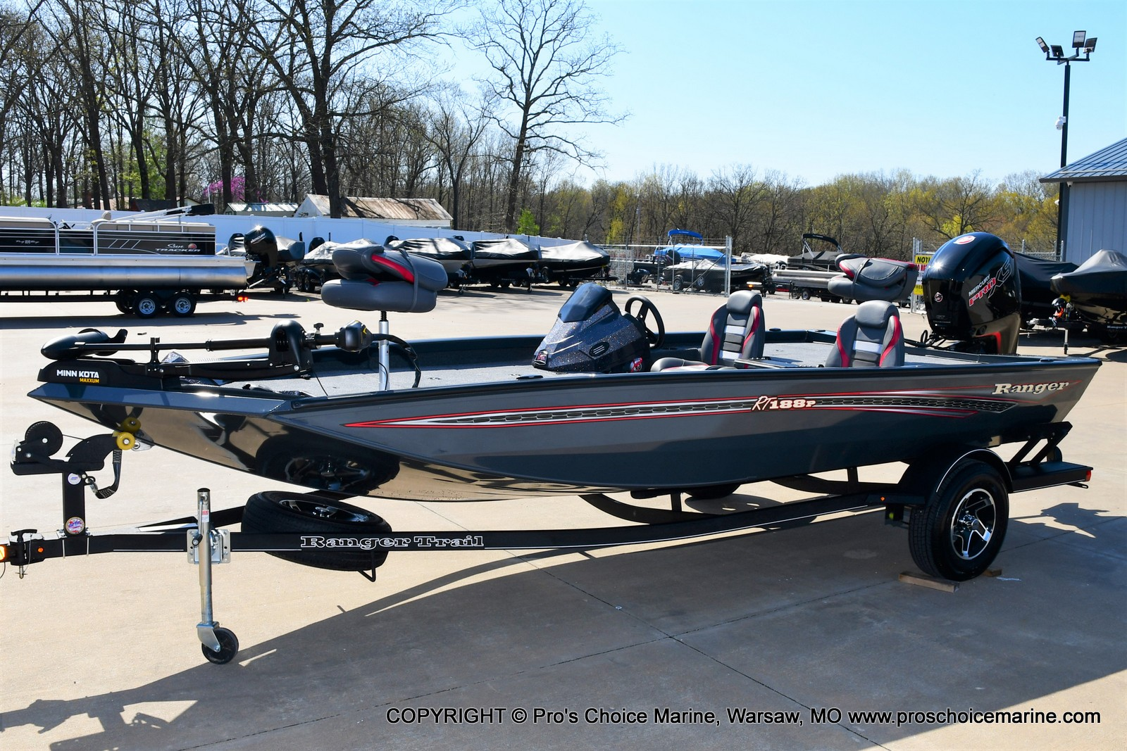 2021 Ranger Boats boat for sale, model of the boat is RT188P w/115HP Pro-XS Command Thrust & Image # 50 of 50