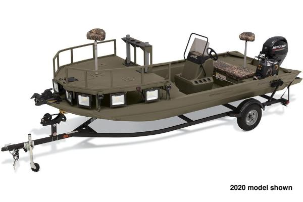 2021 Tracker Boats boat for sale, model of the boat is Grizzly 1860 CC Sportsman & Image # 2 of 6
