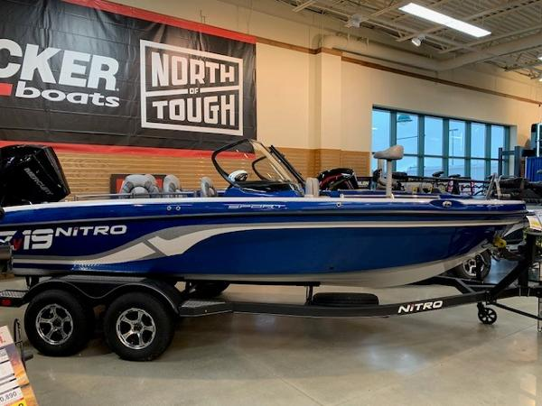 2020 Nitro boat for sale, model of the boat is ZV19 Sport & Image # 1 of 39