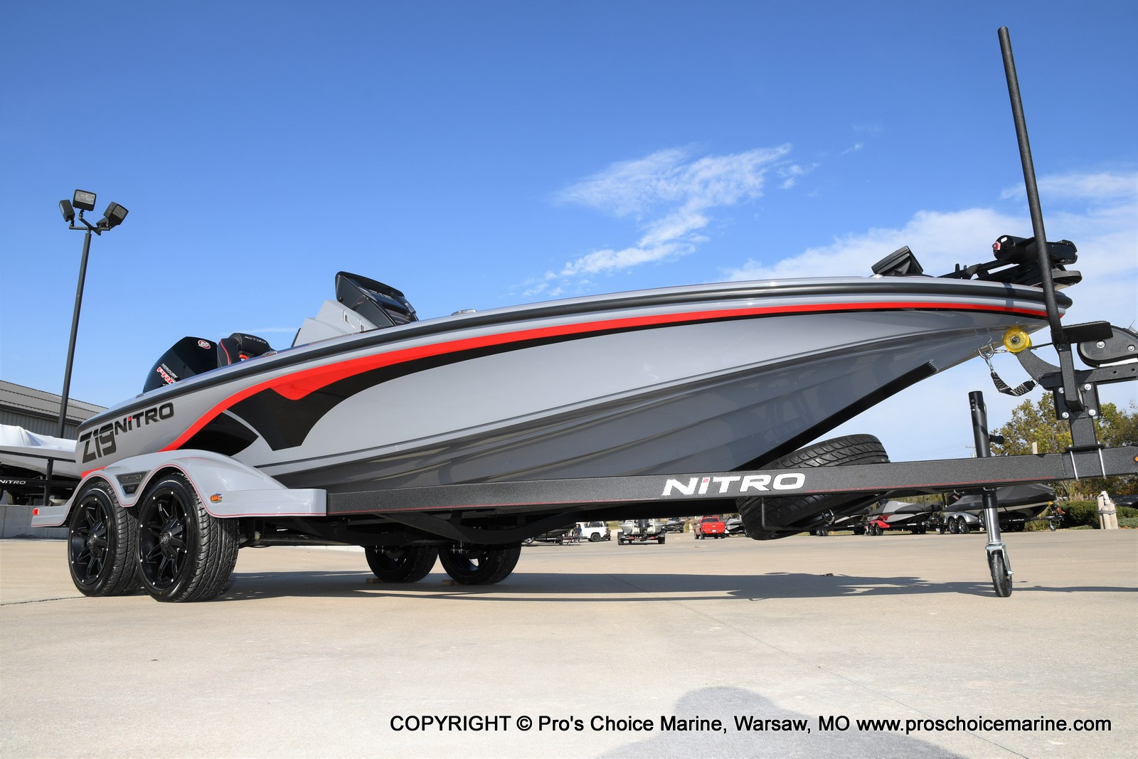 2021 Nitro boat for sale, model of the boat is Z19 pro package & Image # 1 of 50