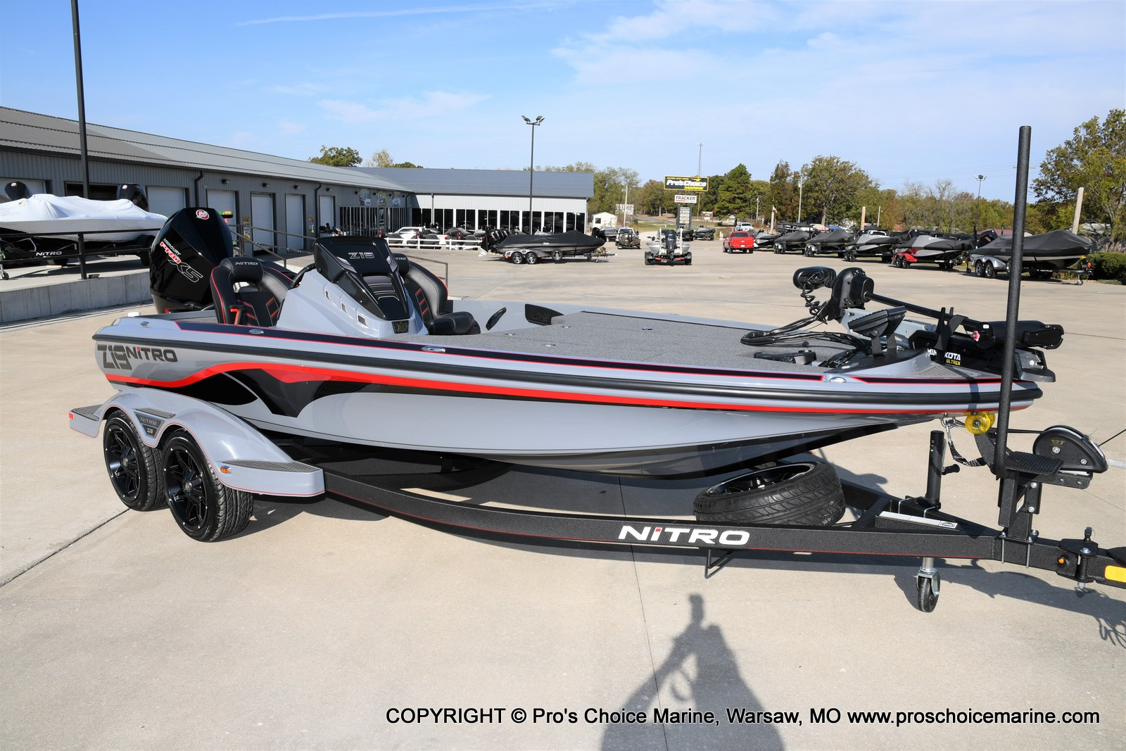 2021 Nitro boat for sale, model of the boat is Z19 pro package & Image # 13 of 50
