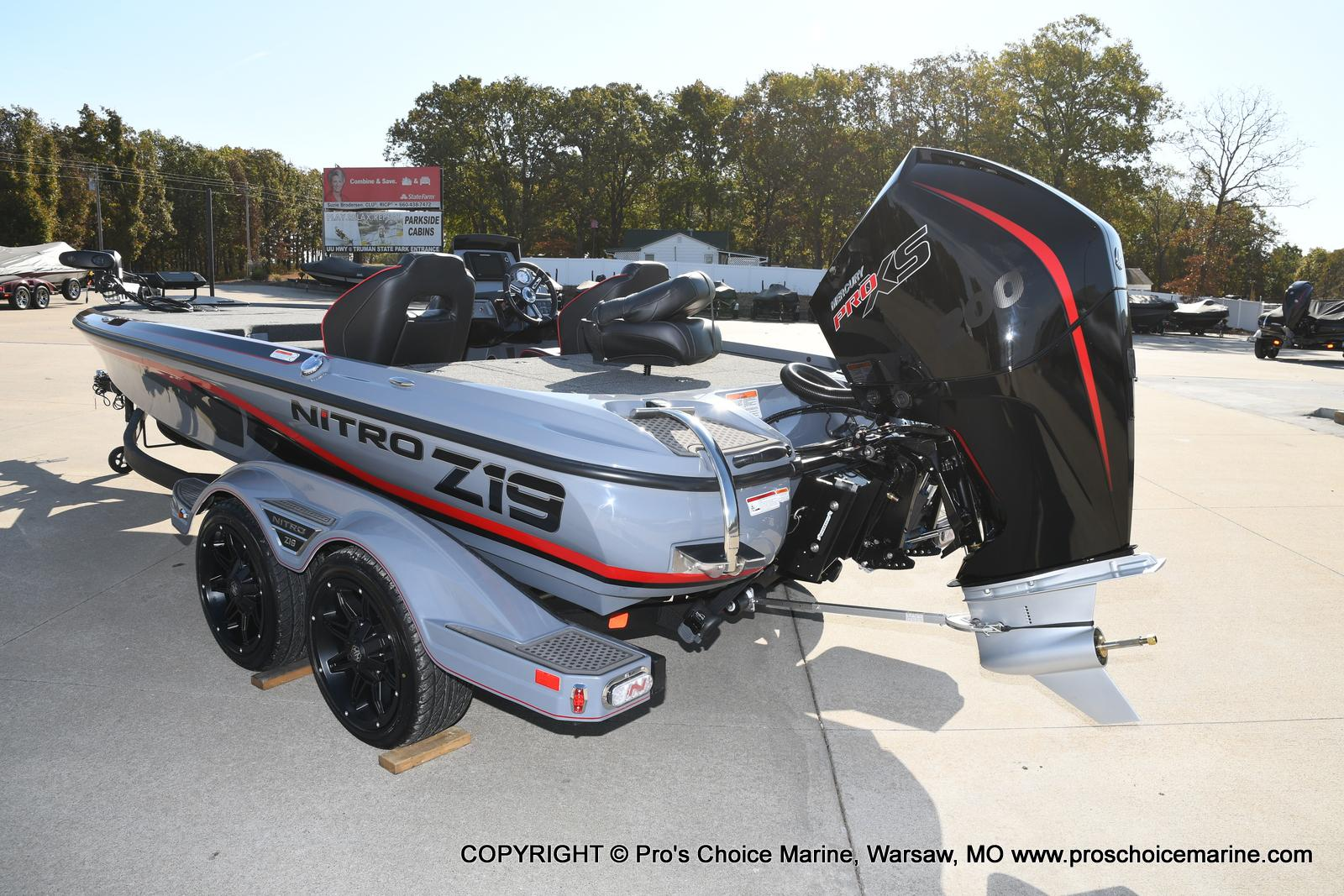 2021 Nitro boat for sale, model of the boat is Z19 pro package & Image # 16 of 50