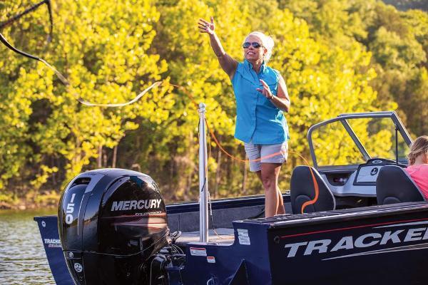 2019 Tracker Boats boat for sale, model of the boat is Targa V-18 Combo & Image # 8 of 22