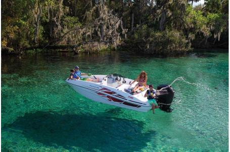 2020 Tahoe boat for sale, model of the boat is T16 OB w/ 75ELPT 4S STD & Image # 43 of 45