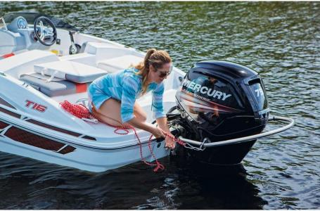 2020 Tahoe boat for sale, model of the boat is T16 OB w/ 75ELPT 4S STD & Image # 32 of 45