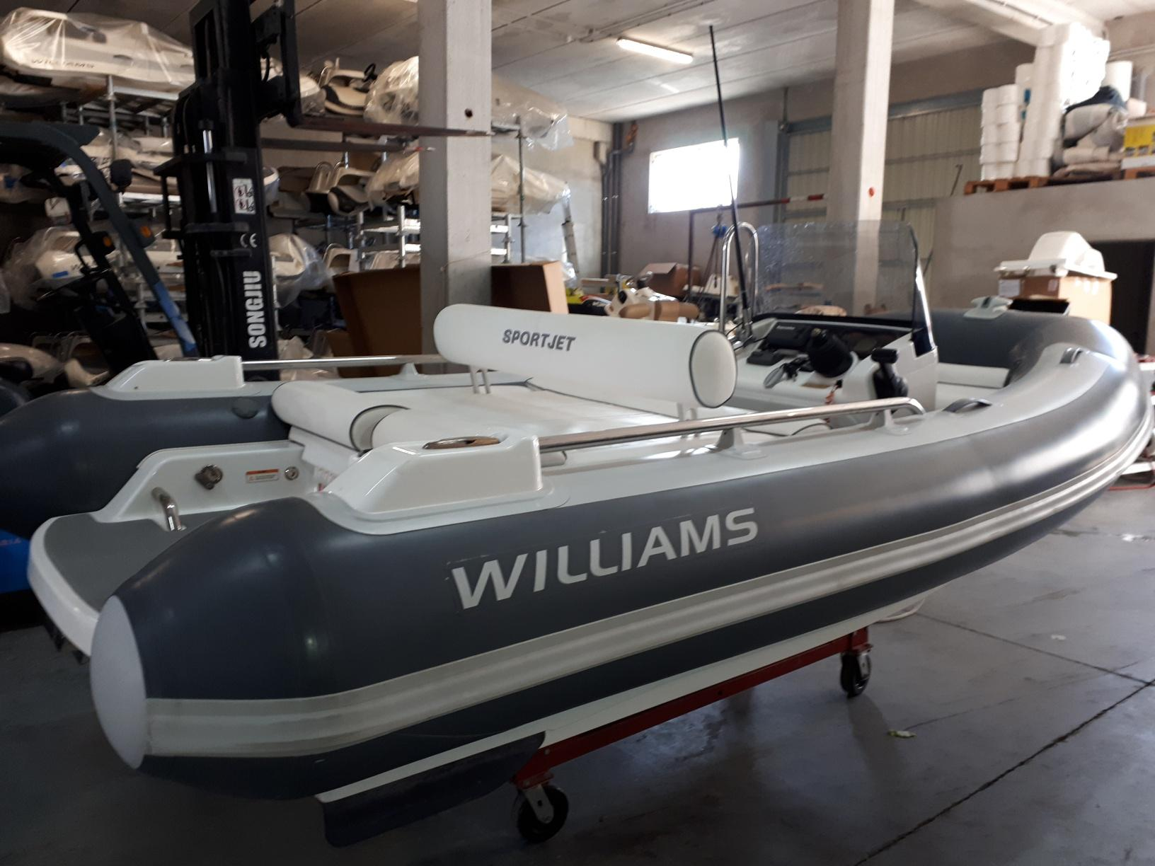 Williams Jet Tenders Sportjet 400