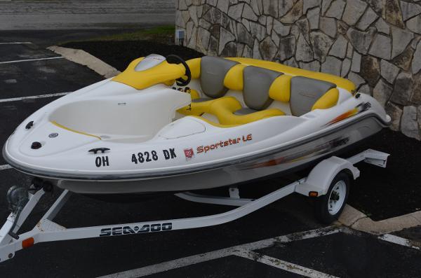 2003 Sea-Doo Sport Boats Sportster LE thumbnail