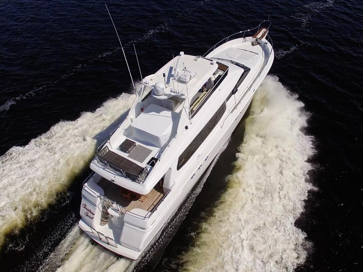 Picture Of:  76' Lazzara Yachts 76 GRAND SALON 1995Yacht For Sale   4 of 117