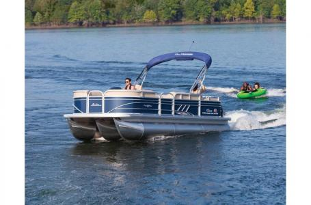 2020 Sun Tracker boat for sale, model of the boat is Signature Party Barge 22RF XP3 w/150L 4S & Image # 1 of 13