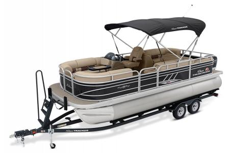 2020 Sun Tracker boat for sale, model of the boat is Signature Party Barge 22RF XP3 w/150L 4S & Image # 12 of 13