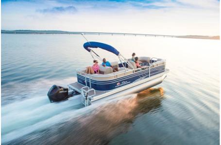 2020 Sun Tracker boat for sale, model of the boat is Signature Party Barge 22RF XP3 w/150L 4S & Image # 13 of 13