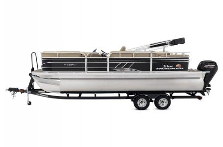 2020 Sun Tracker boat for sale, model of the boat is Signature Party Barge 22RF XP3 w/150L 4S & Image # 4 of 13