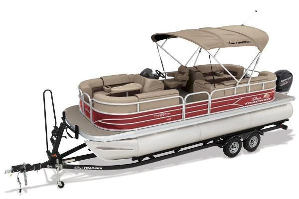 2018 Sun Tracker boat for sale, model of the boat is Party Barge 22 XP3 & Image # 16 of 18