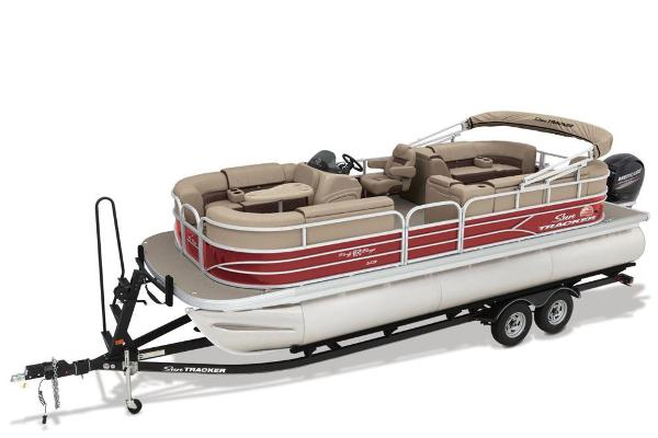 2018 Sun Tracker boat for sale, model of the boat is Party Barge 22 XP3 & Image # 17 of 18