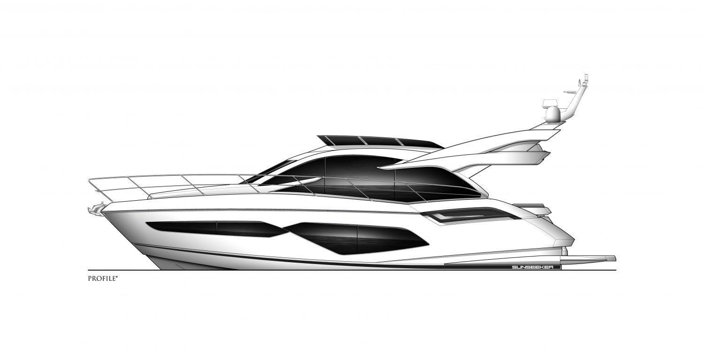 2022 Sunseeker Manhattan 55 #SS346 inventory image at Sun Country Coastal in Newport Beach