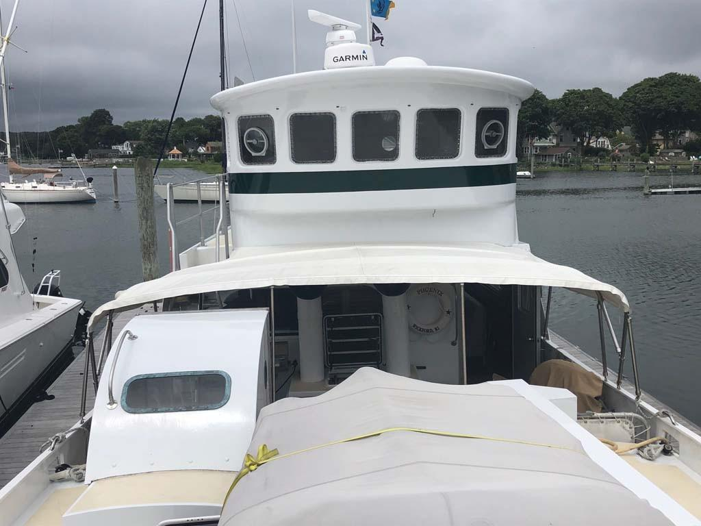 Pilothouse and Foredeck