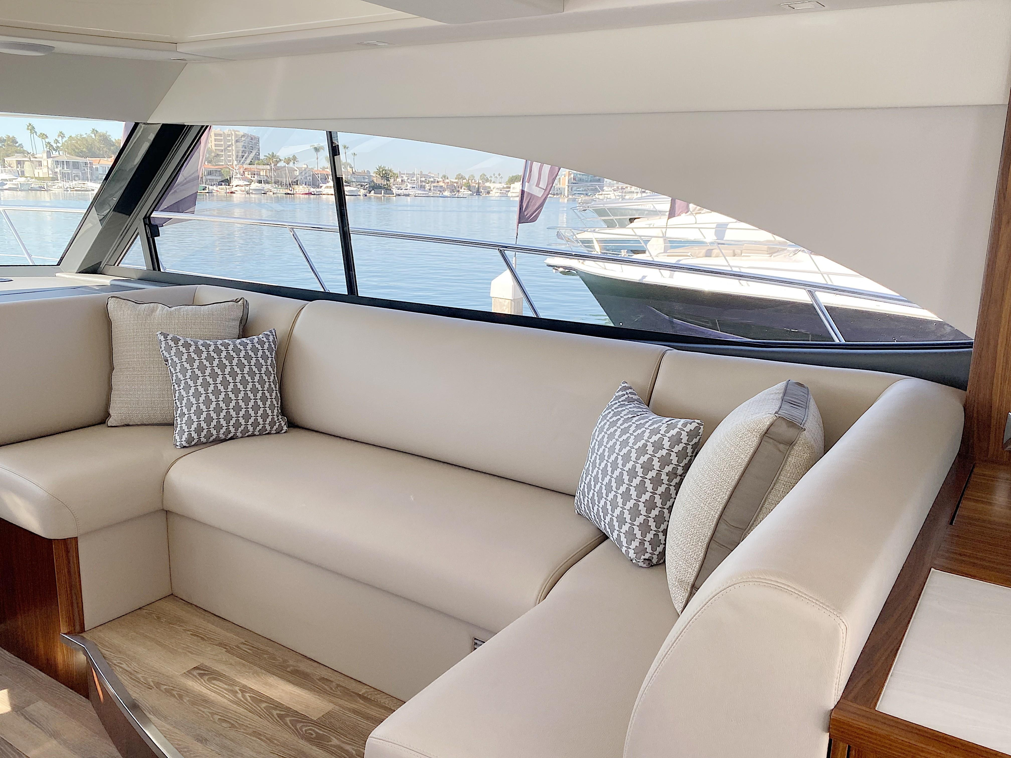 2020 Riviera 4800 Sport Yacht #R065 inventory image at Sun Country Coastal in Newport Beach