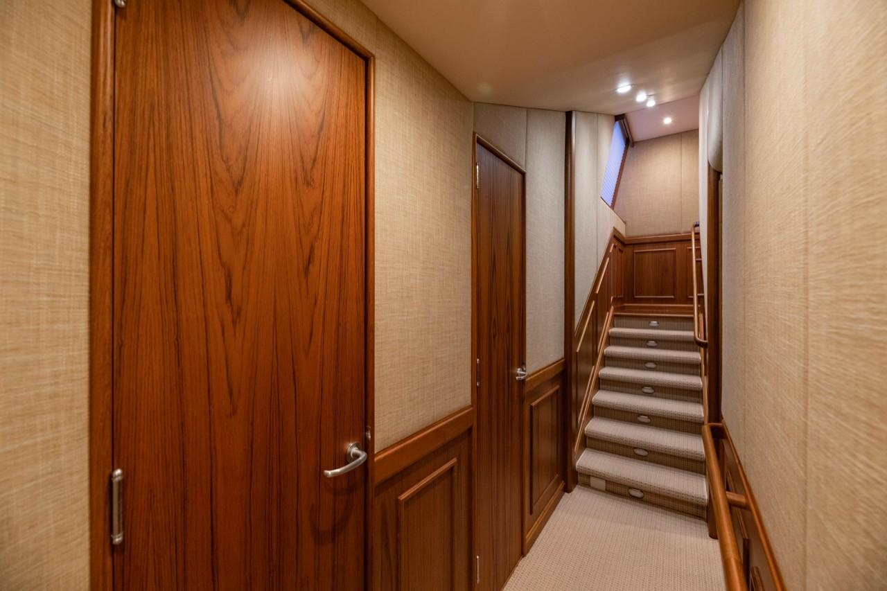 Companionway - looking aft