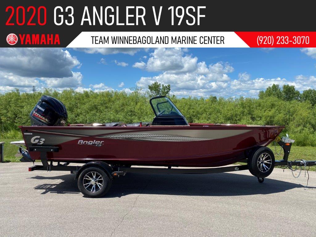 2020 G3 Angler V19 SF