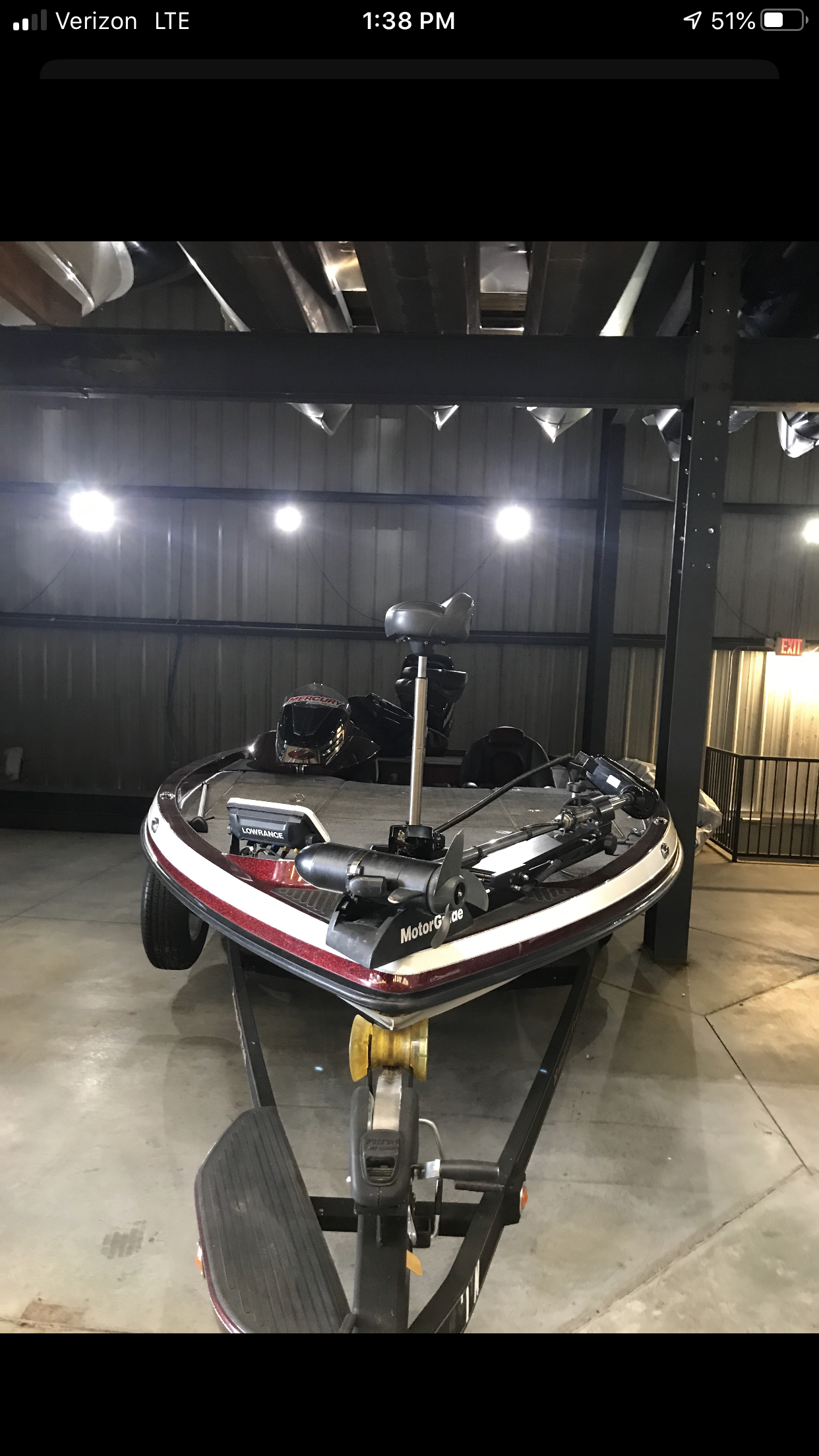 2014 Ranger Boats boat for sale, model of the boat is Z521C & Image # 4 of 5