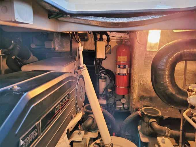 Engine Room Aft to Stbd