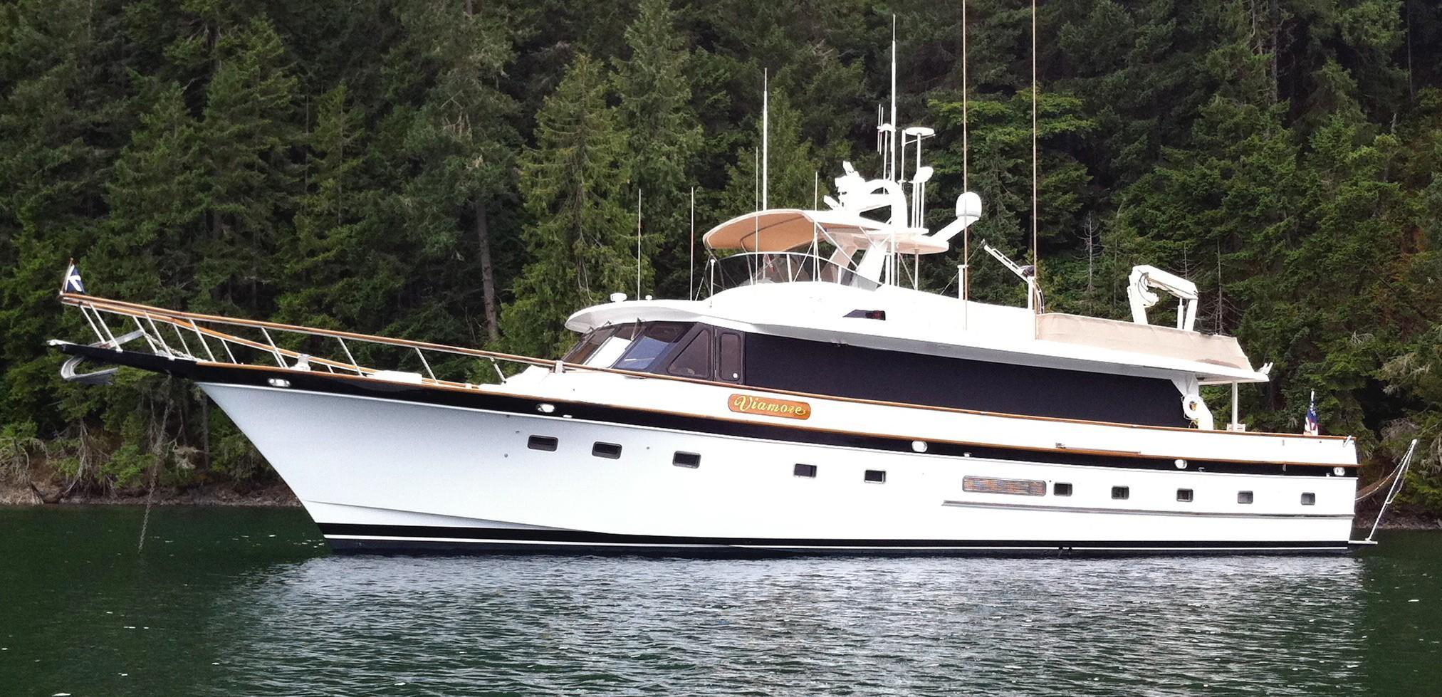 1989 DeFever 78 Motor Yacht