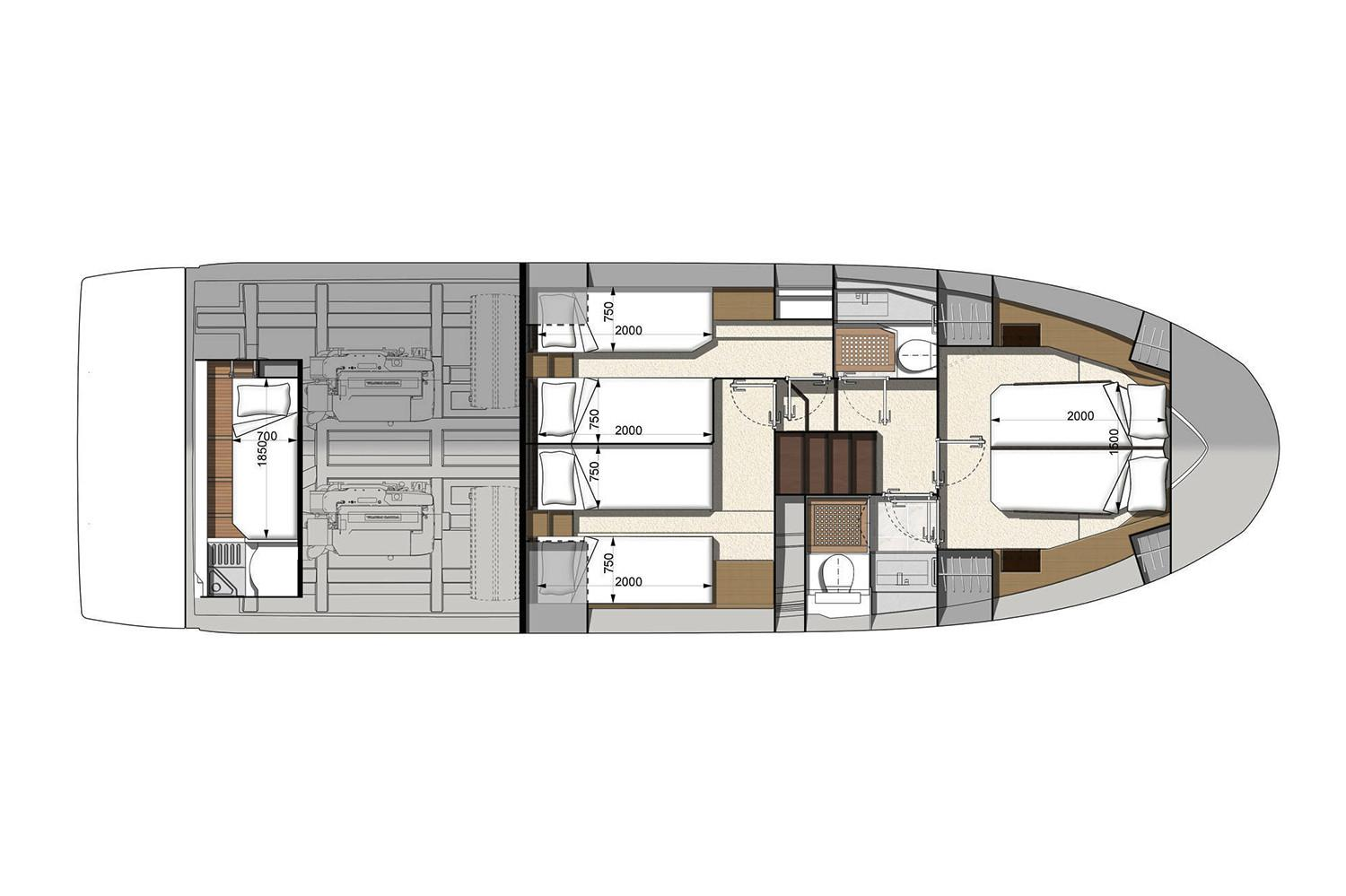 2022 Prestige 460 #76238 inventory image at Sun Country Coastal in San Diego