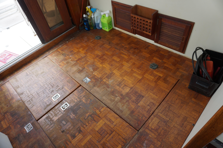Shannon Brendan 32 - Pilot House Floor