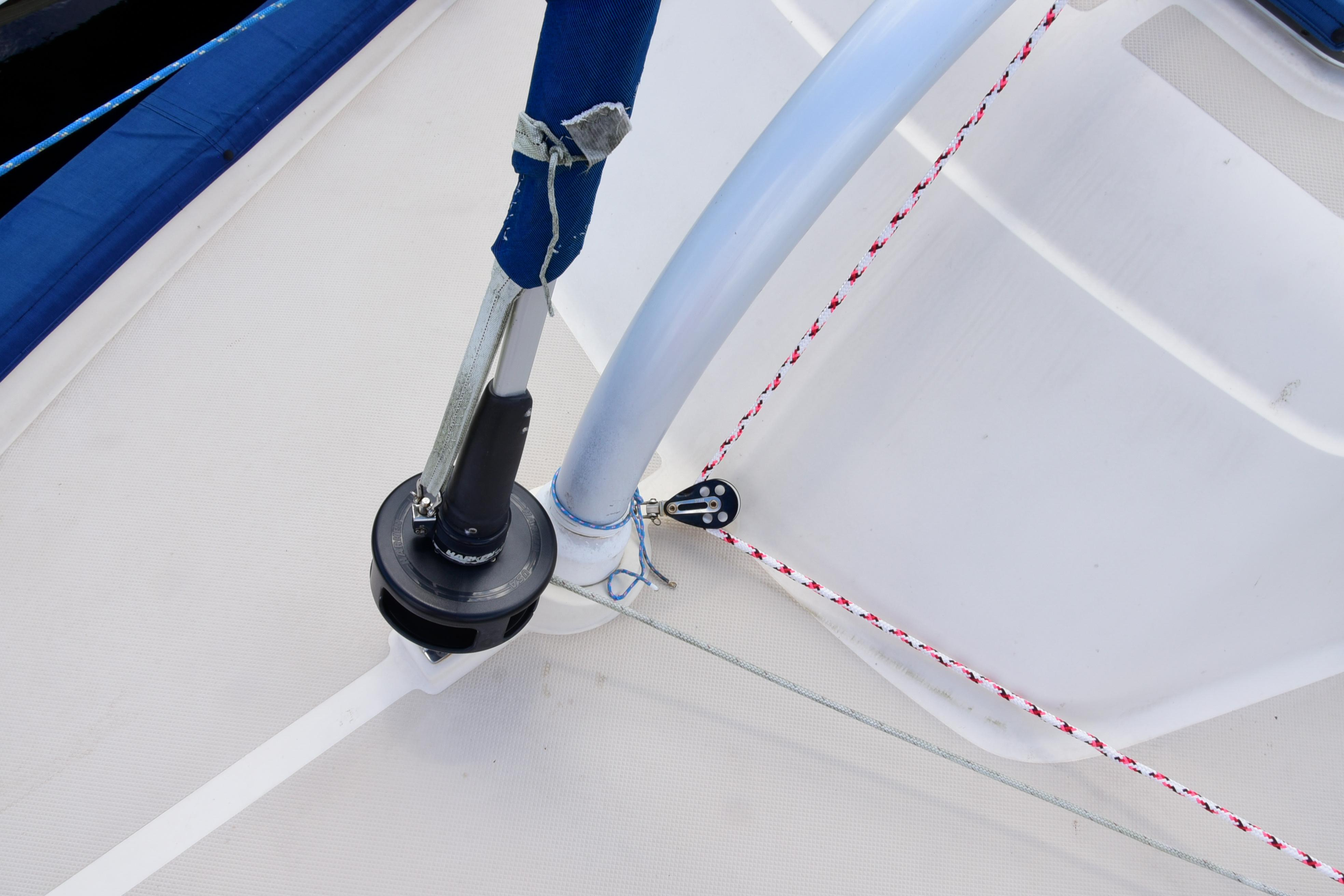 HOYT BOOM FOR STAYSAIL
